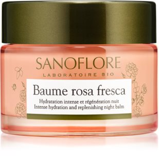 Sanoflore Rosa Fresca αναγεννητική κρέμα νύχτας