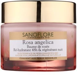 Sanoflore Rosa Angelica crème de nuit hydratante effet régénérant