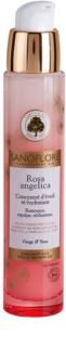 Sanoflore Rosa Angelica λαμπρυντικός ενυδατικός ορός Για  πρόσωπο και μάτια