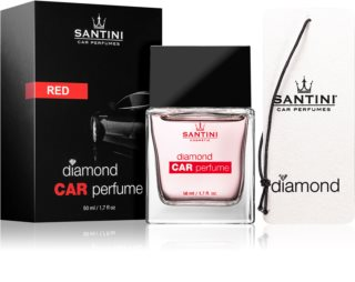 SANTINI Cosmetic Diamond Red ambientador auto