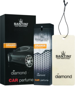 SANTINI Cosmetic Diamond Orange auto luchtverfrisser