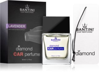 SANTINI Cosmetic Diamond Lavender vůně do auta