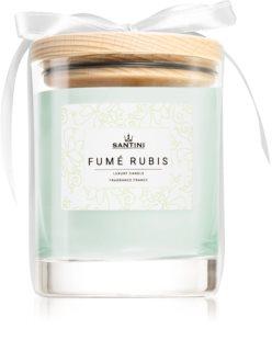 SANTINI Cosmetic Fumé Rubis vela perfumada