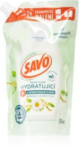 Savo Chamomile & Jojoba Oil tekuté mýdlo na ruce náhradní náplň