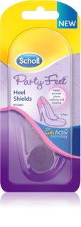 Scholl Party Feet Heel Shields almohadillas de gel  para talones