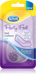 Scholl Party Feet Heel Cushions almohadillas de gel para talones