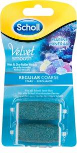 Scholl Velvet Smooth Regular Coarse ανταλλακτική κεφαλή για ηλεκτρική λίμα ποδιών