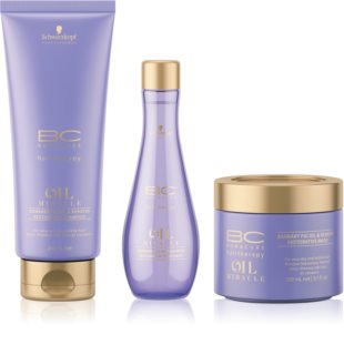 Schwarzkopf Professional BC Bonacure Oil Miracle Barbary Fig Oil Cosmetic Set (For Very Dry And Damaged Hair) for Women