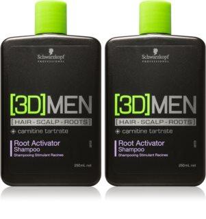 Schwarzkopf Professional [3D] MEN kosmetická sada (pro řídnoucí vlasy) pro muže