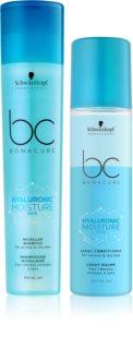 Schwarzkopf Professional BC Bonacure Hyaluronic Moisture Kick Kosmetik-Set  (für trockenes Haar)