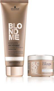 Schwarzkopf Professional Blondme kozmetika szett (szőke hajra)