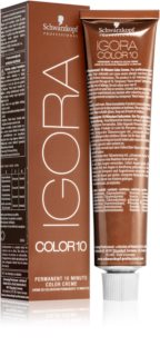 Schwarzkopf Professional IGORA Color 10 Coloration permanente 10 minutes 4-6 60 ml