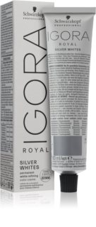 Schwarzkopf Professional IGORA Royal Absolutes SilverWhite coloration semi-permanente pour cheveux argents et blancs