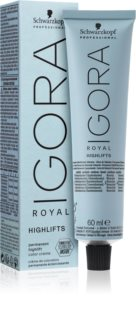 Schwarzkopf Professional IGORA Royal Highlifts tinte permanente para cabello