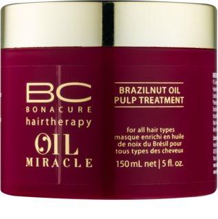 Schwarzkopf Professional BC Bonacure Oil Miracle Brazilnut Oil Maske für die Haare für alle Haartypen