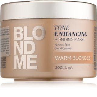 Schwarzkopf Professional Blondme θρεπτική μάσκα για θερμές  ξανθές αποχρώσεις