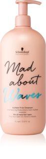 Schwarzkopf Professional Mad About Waves hydratisierendes Shampoo für welliges Haar