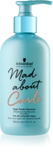 Schwarzkopf Professional Mad About Curls champô suave para cabelo ondulado