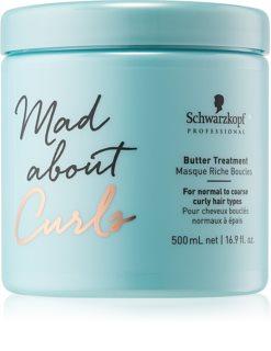 Schwarzkopf Professional Mad About Curls mascarilla de nutrición profunda para cabello rizado