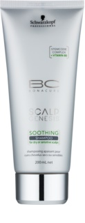 Schwarzkopf Professional BC Bonacure Scalp Genesis Soothing Shampoo for Dry Hair and Sensitive Scalp