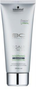 Schwarzkopf Professional BC Bonacure Scalp Genesis champô calmante para cabelos secos e couro cabeludo sensível