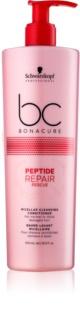 Schwarzkopf Professional BC Bonacure Peptide Repair Rescue mizellen Reinigungsconditioner für beschädigtes Haar