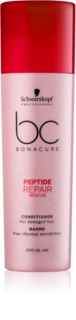 Schwarzkopf Professional BC Bonacure Peptide Repair Rescue Conditioner For Damaged Hair