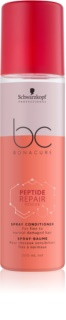 Schwarzkopf Professional BC Bonacure Peptide Repair Rescue Spray Conditioner For Damaged Hair