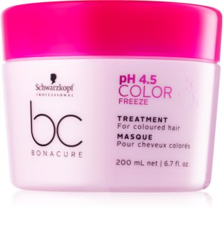 Schwarzkopf Professional BC Bonacure pH 4,5 Color Freeze maschera per capelli tinti