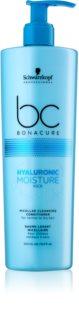 Schwarzkopf Professional BC Bonacure Hyaluronic Moisture Kick baume lavant micellaire pour cheveux secs
