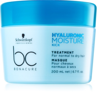 Schwarzkopf Professional BC Bonacure Moisture Kick Hair Mask with Hyaluronic Acid