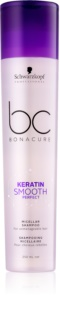 Schwarzkopf Professional BC Bonacure Keratin Smooth Perfect shampoing micellaire pour cheveux indisciplinés