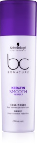 Schwarzkopf Professional BC Bonacure Keratin Smooth Perfect κοντίσιονερ για ατίθασα μαλλιά