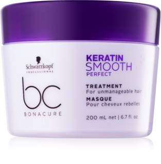 Schwarzkopf Professional BC Bonacure Keratin Smooth Perfect маска  за непокорна коса