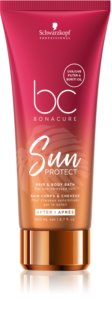 Schwarzkopf Professional BC Bonacure Sun Protect champô de proteção cabelo e corpo