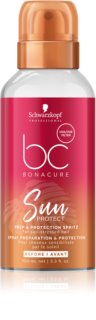 Schwarzkopf Professional BC Bonacure Sun Protect Protection Mist for Hair Damaged by Chlorine, Sun & Salt