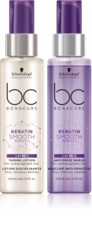 Schwarzkopf Professional BC Bonacure Keratin Smooth Perfect Two-Phase Serum For Unruly And Frizzy Hair
