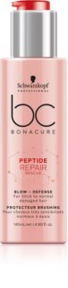 Schwarzkopf Professional BC Bonacure Peptide Repair Rescue Nourishing Heat Protecting Cream Spray