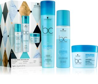 Schwarzkopf Professional BC Bonacure Hyaluronic Moisture Kick Gift Set (For Normal To Dry Hair)