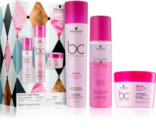 Schwarzkopf Professional BC Bonacure pH 4,5 Color Freeze darilni set (za barvane lase)