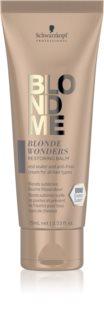 Schwarzkopf Professional Blondme Blonde Wonders Återställande balsam För blont och slingat hår