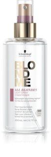Schwarzkopf Professional Blondme All Blondes Light leichter Conditioner im Spray