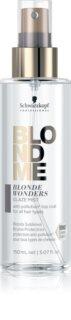 Schwarzkopf Professional Blondme Blonde Wonders regeberierendes Glanzspray für blondes und meliertes Haar