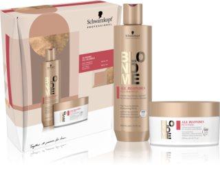 Schwarzkopf Professional Blondme All Blondes Rich confezione regalo (per capelli grossi)