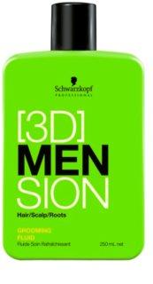 Schwarzkopf Professional [3D] MEN Fluid für alle Haartypen