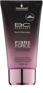 Schwarzkopf Professional BC Bonacure Fibreforce λοσιόν χωρίς ξέβγαλμα για πολύ κατεστραμμένα μαλλιά