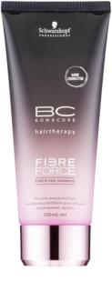 Schwarzkopf Professional BC Bonacure Fibreforce šampon za okrepitev las za poškodovane lase