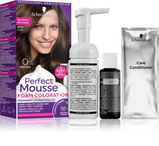 Schwarzkopf Perfect Mousse Permanent-Haarfarbe
