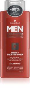 Schwarzkopf Men Arginin+ stärkendes Shampoo gegen Haarausfall für Herren