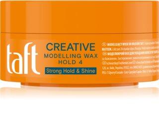 Schwarzkopf Taft Looks Creative modelirni vosek ultra močna fiksacija